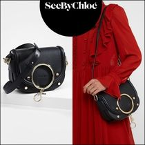 See by Chloe Leather Office Style Shoulder Bags