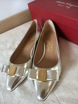 Salvatore Ferragamo Leather Pointed Toe Shoes