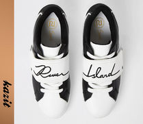 River Island Casual Style Faux Fur Street Style Low-Top Sneakers