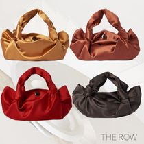 The Row Casual Style Plain Leather Handbags