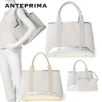 ANTEPRIMA Casual Style Plain Office Style Totes
