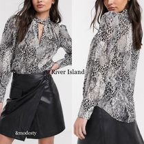 River Island Casual Style Long Sleeves Other Animal Patterns Medium