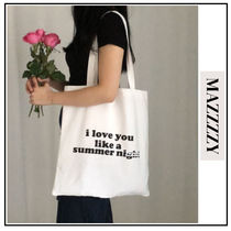 MAZZZZY Casual Style Unisex A4 Bags