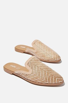Round Toe Casual Style Plain Flip Flops Slippers