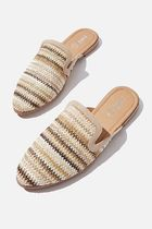 Cotton on Round Toe Casual Style Plain Flip Flops Slippers
