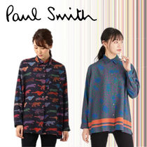 Paul Smith Casual Style Long Sleeves Other Animal Patterns Long