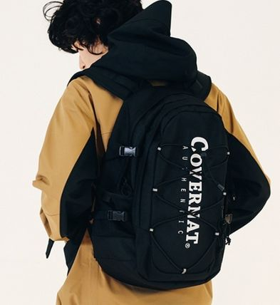 Unisex A4 Co-ord Logo Backpacks