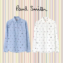 Paul Smith Casual Style Long Sleeves Cotton Medium Shirts & Blouses