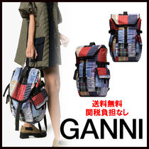 Ganni Casual Style Backpacks