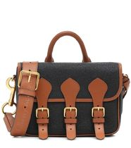Ance Studios Casual Style Collaboration 2WAY Plain Leather Logo
