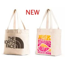 THE NORTH FACE Casual Style Unisex A4 Plain Totes
