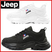 JEEP Casual Style Unisex Street Style Low-Top Sneakers