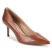 Ralph Lauren Casual Style Plain Leather Pin Heels Party Style