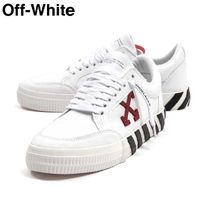 Off-White Street Style Leather Sneakers