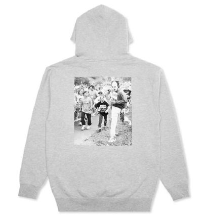 Street Style Collaboration Skater Style Hoodies