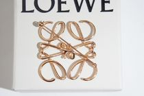 LOEWE Unisex Party Style Brass Elegant Style Party Jewelry