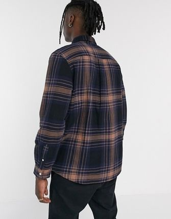 Weekday Shirts Other Plaid Patterns Long Sleeves Shirts 2