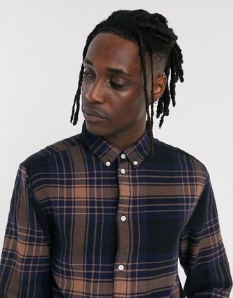 Weekday Shirts Other Plaid Patterns Long Sleeves Shirts 3