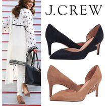 J Crew Suede Plain Leather Party Style Elegant Style