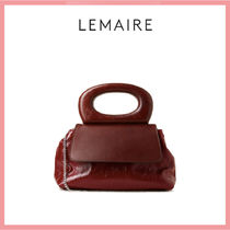 CHRISTOPHE LEMAIRE Casual Style 2WAY Party Style Elegant Style Handbags