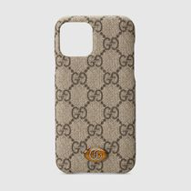 GUCCI Ophidia Unisex iPhone X Logo iPhone 11 Pro Smart Phone Cases
