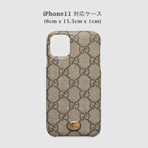 GUCCI Ophidia Unisex iPhone X Logo iPhone 11 Pro iPhone 11 Pro Max