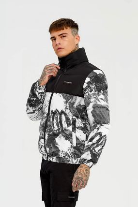 Unisex Street Style Other Animal Patterns Down Jackets