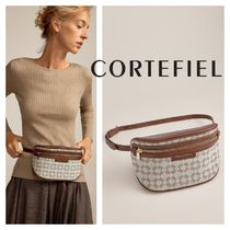 CORTEFIEL Casual Style Leather Hip Packs