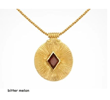 Casual Style Chain Handmade Silver 18K Gold Elegant Style