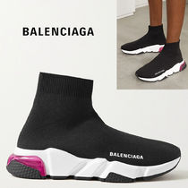 BALENCIAGA Casual Style Plain Low-Top Sneakers