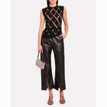Alexander Wang Leather With Jewels Elegant Style Formal Style  Handbags