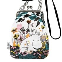 Moomin Flower Patterns Casual Style Unisex Canvas Logo