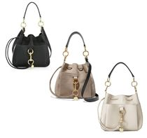See by Chloe Street Style Leather Shoulder Bags