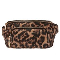 Michael Kors Leopard Patterns Unisex Hip Packs
