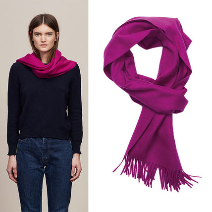 Cashmere Plain Scarves