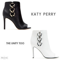 Katy Perry Casual Style Leather Ankle & Booties Boots