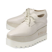 Stella McCartney ELYSE Platform Faux Fur Platform & Wedge Sneakers