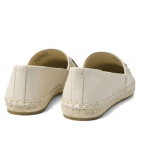 Tory Burch Leather Logo Slip-On Shoes