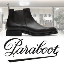 Paraboot Plain Leather U Tips Boots