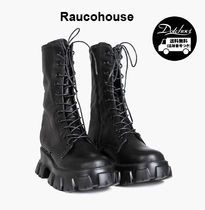 Raucohouse Platform Street Style Plain Shoes