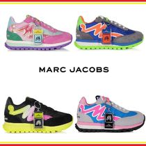 MARC JACOBS Rubber Sole Street Style Plain Low-Top Sneakers