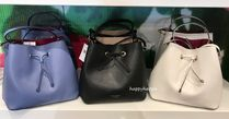 kate spade new york Stripes 2WAY Plain Leather Crossbody Shoulder Bags