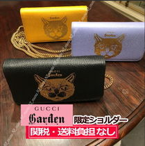 GUCCI 2WAY Other Animal Patterns Shoulder Bags