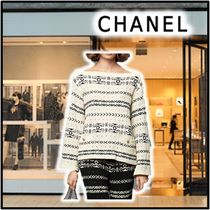 CHANEL 2020 SS PULLOVER off-white sweaters