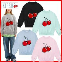 KIRSH Street Style Cotton Hoodies & Sweatshirts