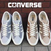 CONVERSE ONE STAR Unisex Suede Plain Sneakers