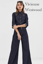 Vivienne Westwood Denim Street Style Plain Cotton Long Home Party Ideas Jeans