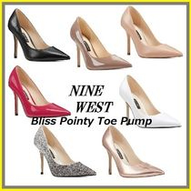 Nine West Casual Style Enamel Plain Pin Heels Party Style Office Style