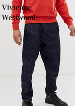 Vivienne Westwood Unisex Denim Street Style Plain Cotton Home Party Ideas