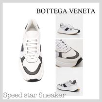 BOTTEGA VENETA Plain Leather Sneakers